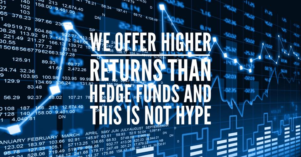 Let's Talk About Real Facts: We Deliver Higher Returns Than Hedge Funds