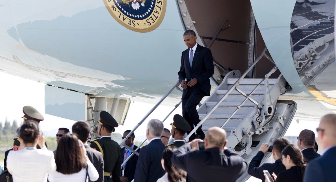 China Ridicules Obama's Last Foreign Tour